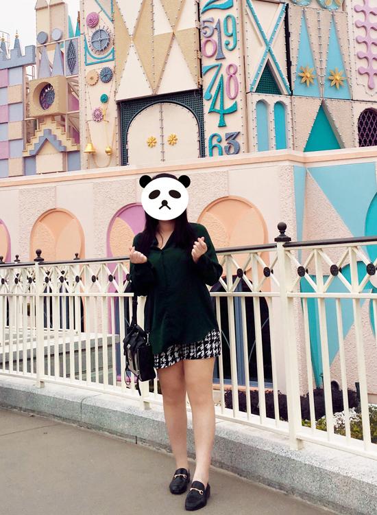 熊貓小編穿搭 厚片女孩穿搭樂福鞋