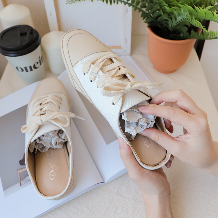 小白鞋洗滌實用教學 陰乾鞋子