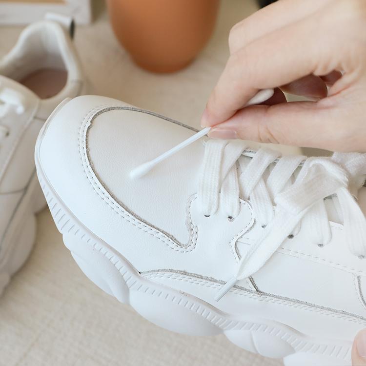 小白鞋洗滌實用教學 牙膏舊牙刷清潔