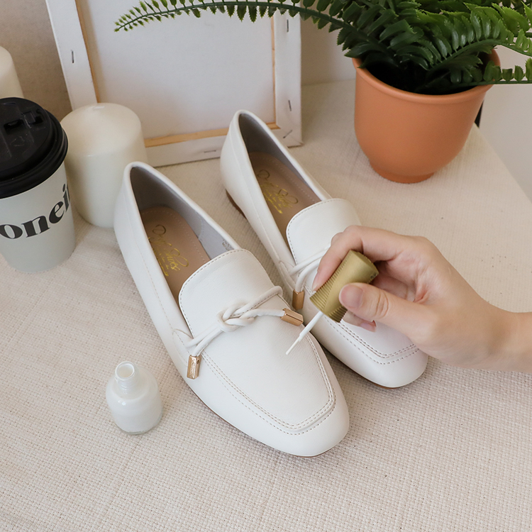小白鞋洗滌實用教學 白色指甲油