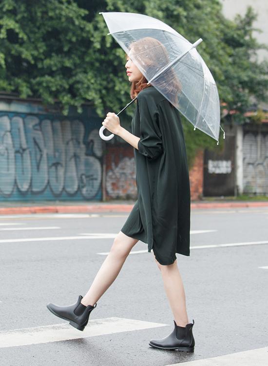 D+AF 切爾西防水雨靴