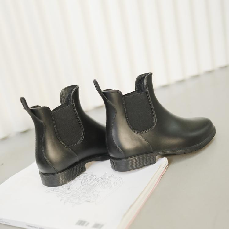 D+AF 下雨時尚必備切爾西雨靴