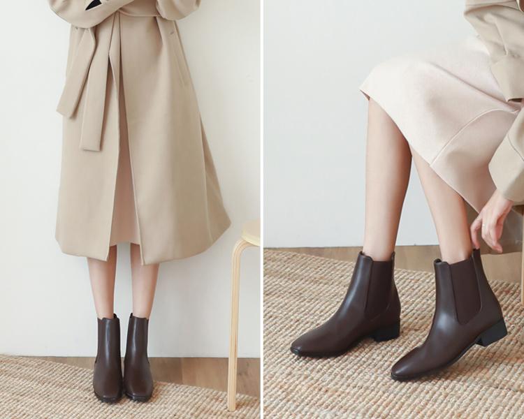 D+AF 復古切爾西靴穿搭 雀爾西靴 卻爾西靴