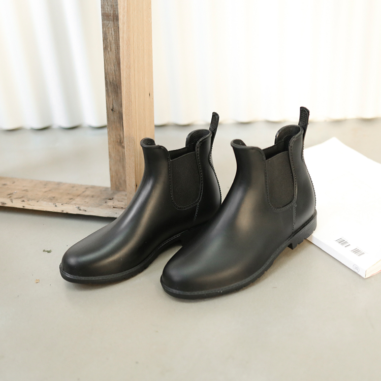 雨靴 雨靴推薦 短筒雨靴 雨靴女 雨靴哪裡買 卻爾西靴款防水雨靴