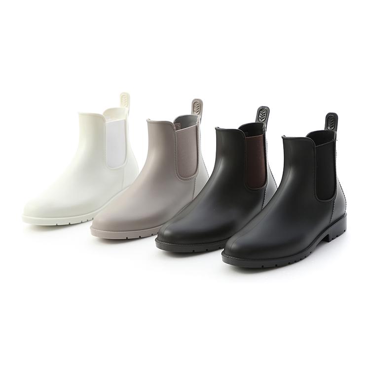 側鬆緊切爾西短雨靴