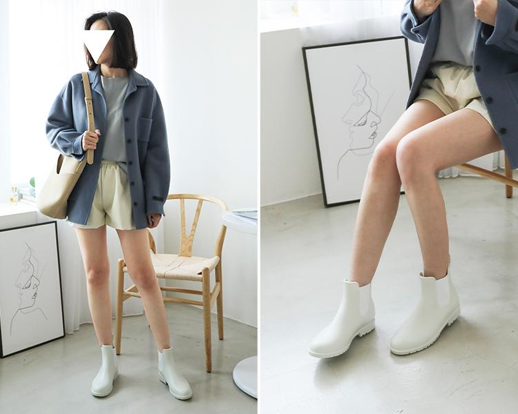 雨靴 雨靴穿搭 雨靴推薦 短筒雨靴 雨靴女