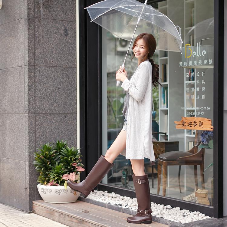 雨靴穿搭 雨靴推薦 雨靴女 長筒靴 長筒雨鞋 長筒靴穿搭