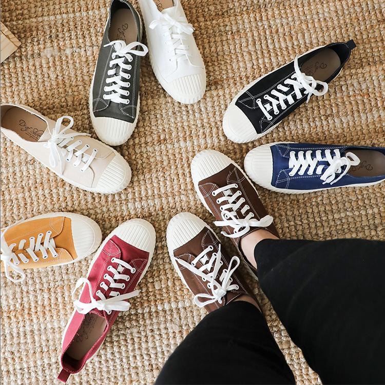 D+AF 韓國穿搭 韓國秋冬穿搭 帆布鞋