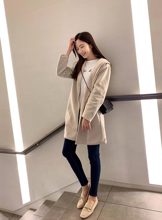 D+AF 韓國穿搭 韓國秋冬穿搭  樂福鞋
