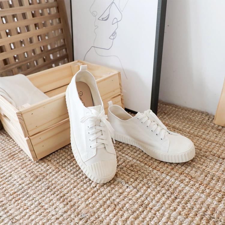 小白鞋 餅乾鞋 帆布鞋 休閒鞋 白色 白鞋 白色餅乾鞋