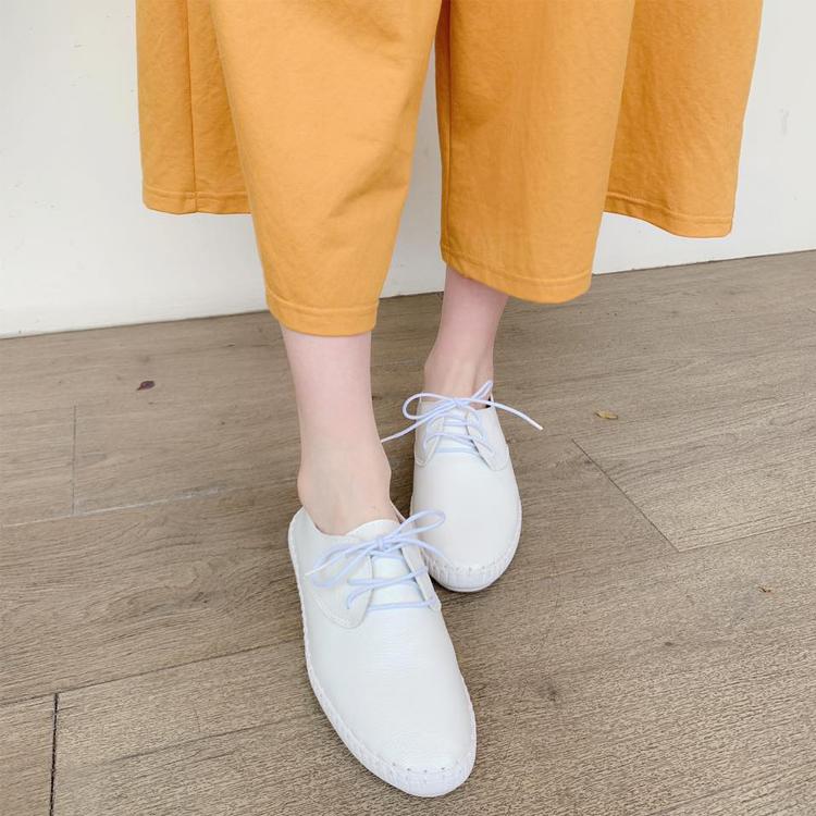 小白鞋 白鞋 白色休閒鞋 牛津鞋 休閒鞋