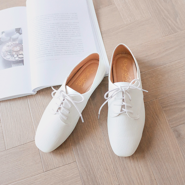 小白鞋 牛津鞋 白鞋 白色 白色牛津鞋