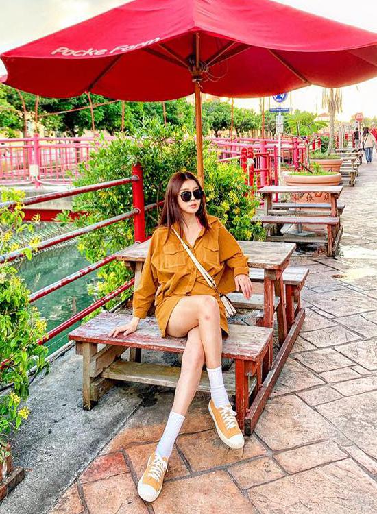 韓國夏天流行鞋款 餅乾鞋 休閒帆布鞋穿搭