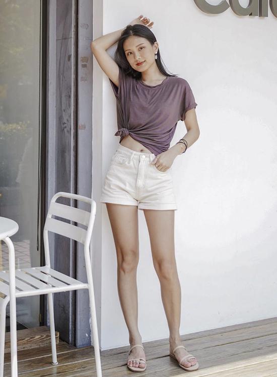 韓國夏天流行鞋款 不對稱設計涼鞋 陽光系韓妞夏日穿搭