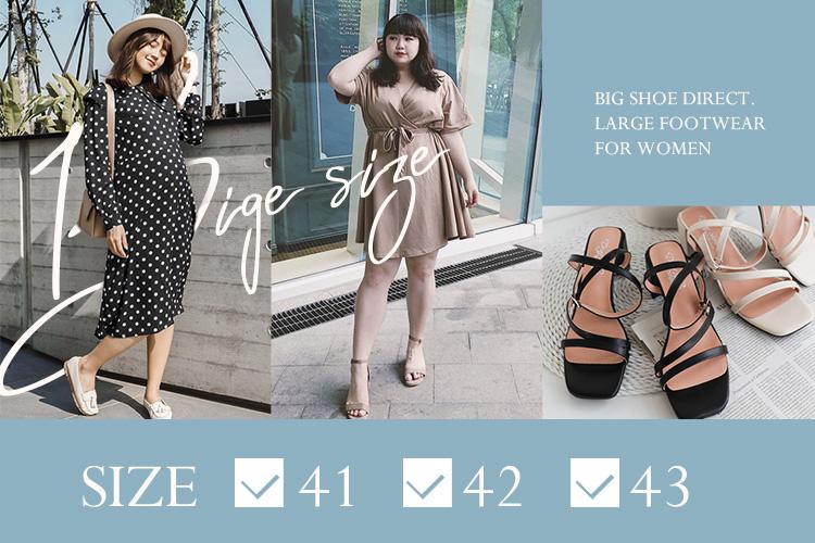 大尺碼女鞋品牌D+AF 大腳女孩美鞋推薦 夏日大尺碼涼鞋鞋款