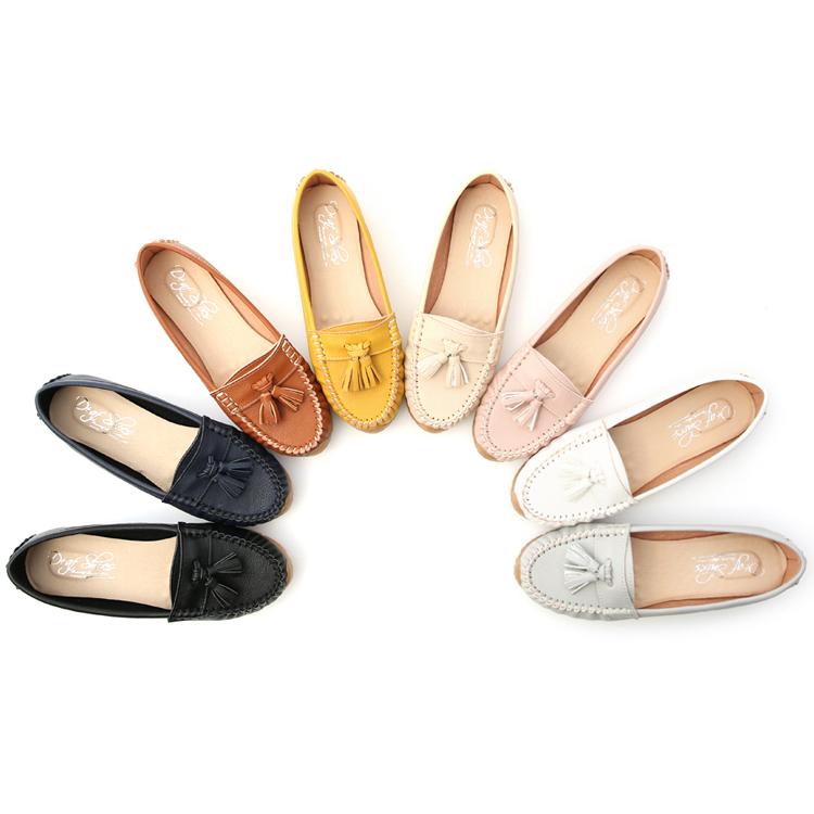 D+AF大尺碼女鞋推薦 莫卡辛健走鞋