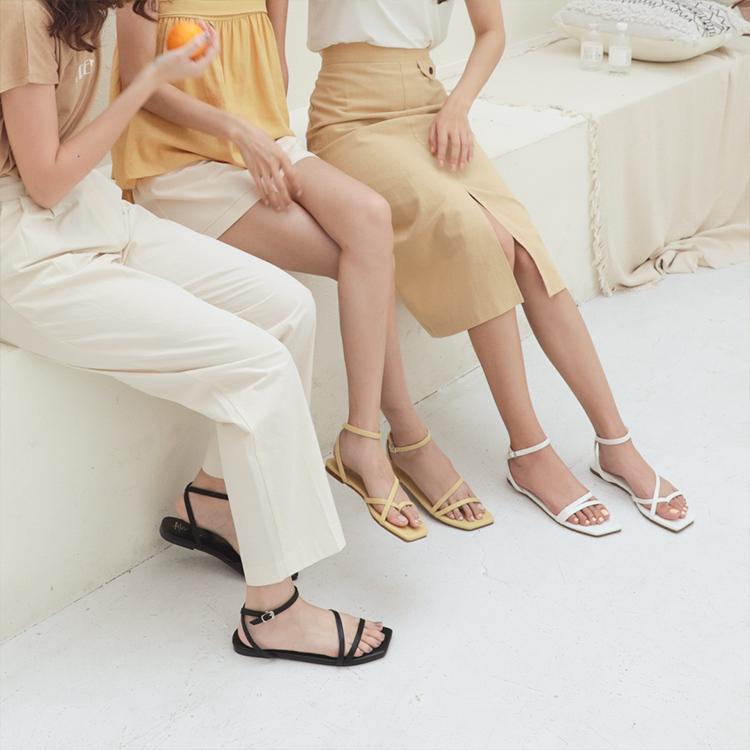 愛莉莎莎聯名鞋款聯名鞋款 女鞋 不對稱涼鞋01