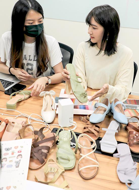 D+AF x 愛莉莎莎聯名鞋款製作 01