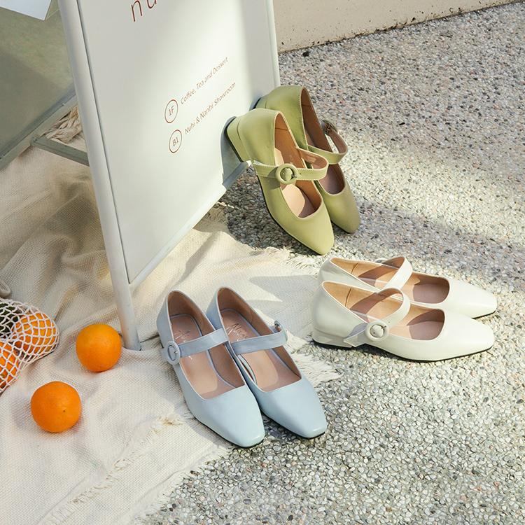 愛莉莎莎聯名鞋款 瑪莉珍鞋