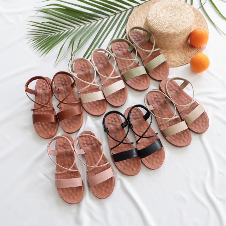 舒適百搭涼鞋推薦 豆豆按摩鞋墊 舒適涼鞋 好穿涼鞋02