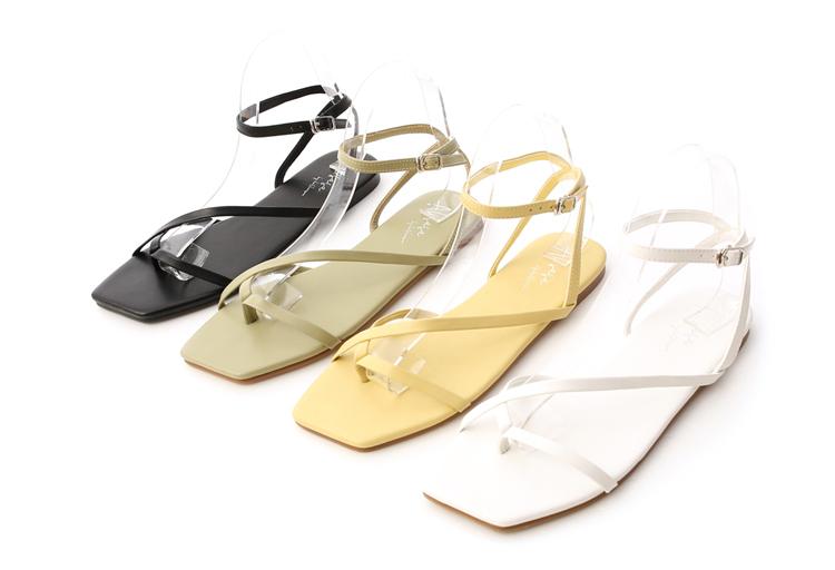 大尺碼細帶涼鞋推薦41、42碼 愛莉莎莎聯名鞋款 涼鞋