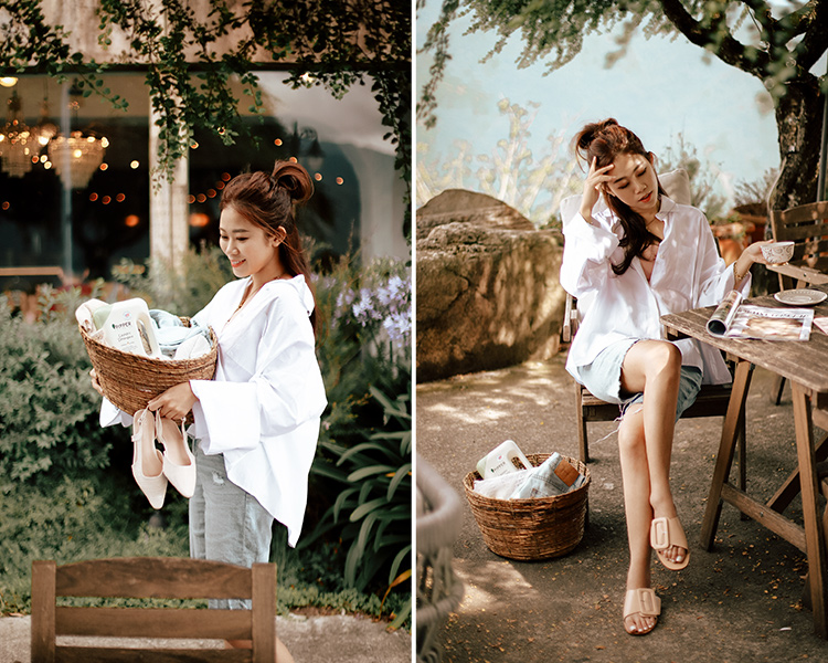 D+AF IRIS企劃 夏日企劃 平底拖鞋  Iris Chen(@irischen_style)