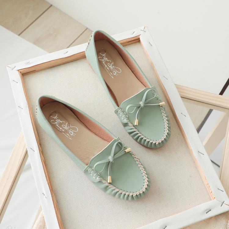 D+AF 朦朧玉色 MIT健走鞋 小蝴蝶健走鞋 台灣製造 薄荷綠鞋