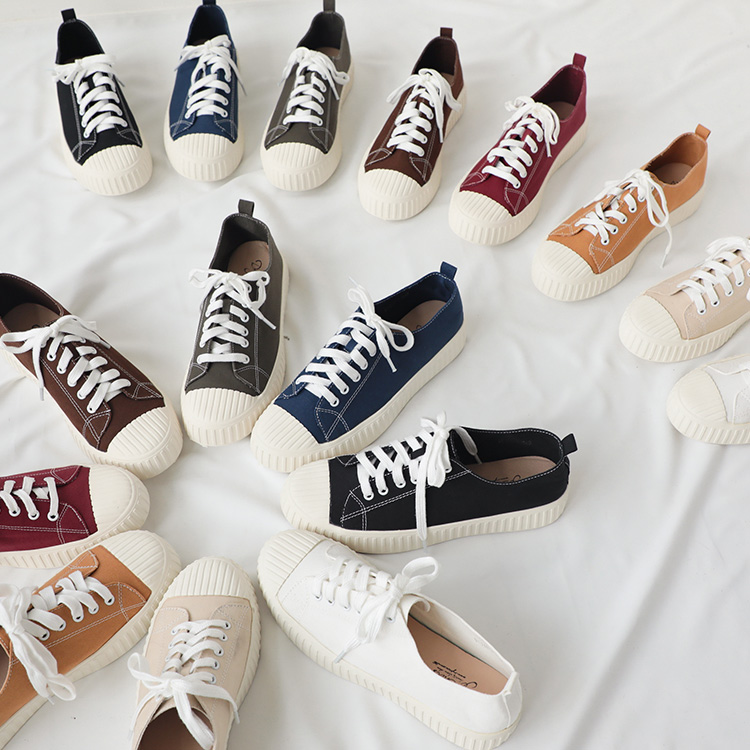 D+AF 帆布鞋 帆布鞋穿搭 黑色帆布鞋 休閒鞋