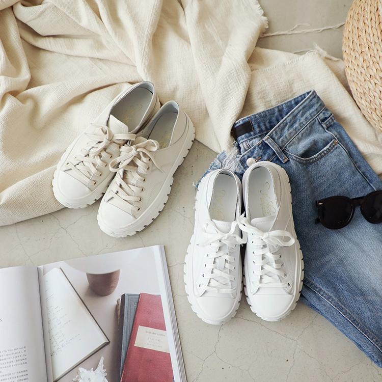 D+AF 休閒鞋 白色休閒鞋 休閒鞋穿搭