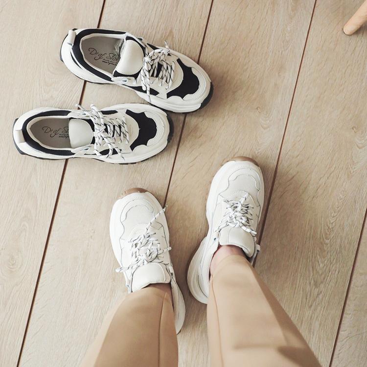 D+AF 休閒鞋 老爹鞋 休閒鞋穿搭
