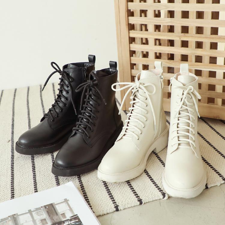 加厚鞋底中筒馬汀靴