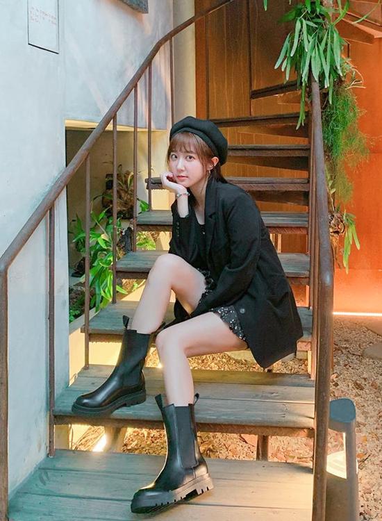@angelhong切爾西短靴穿搭 短褲黑靴穿搭