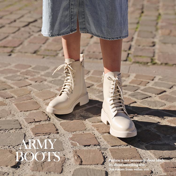 時髦女孩都該懂得軍靴穿搭秘訣