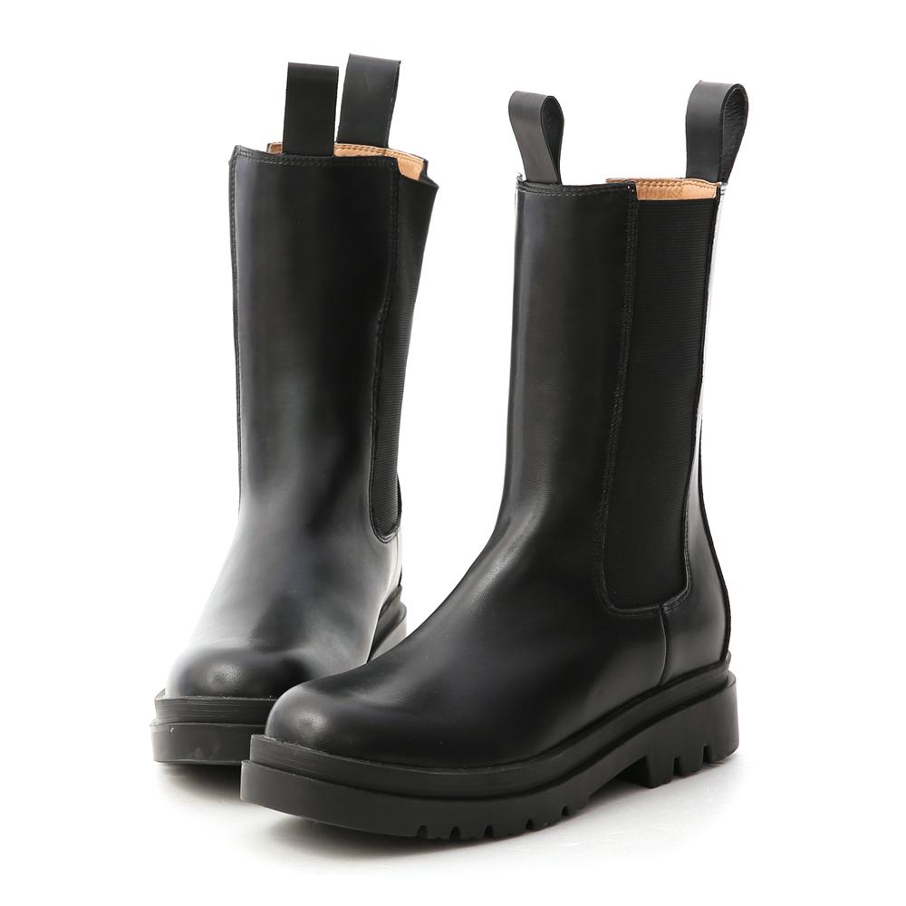 加厚鞋底切爾西中筒靴