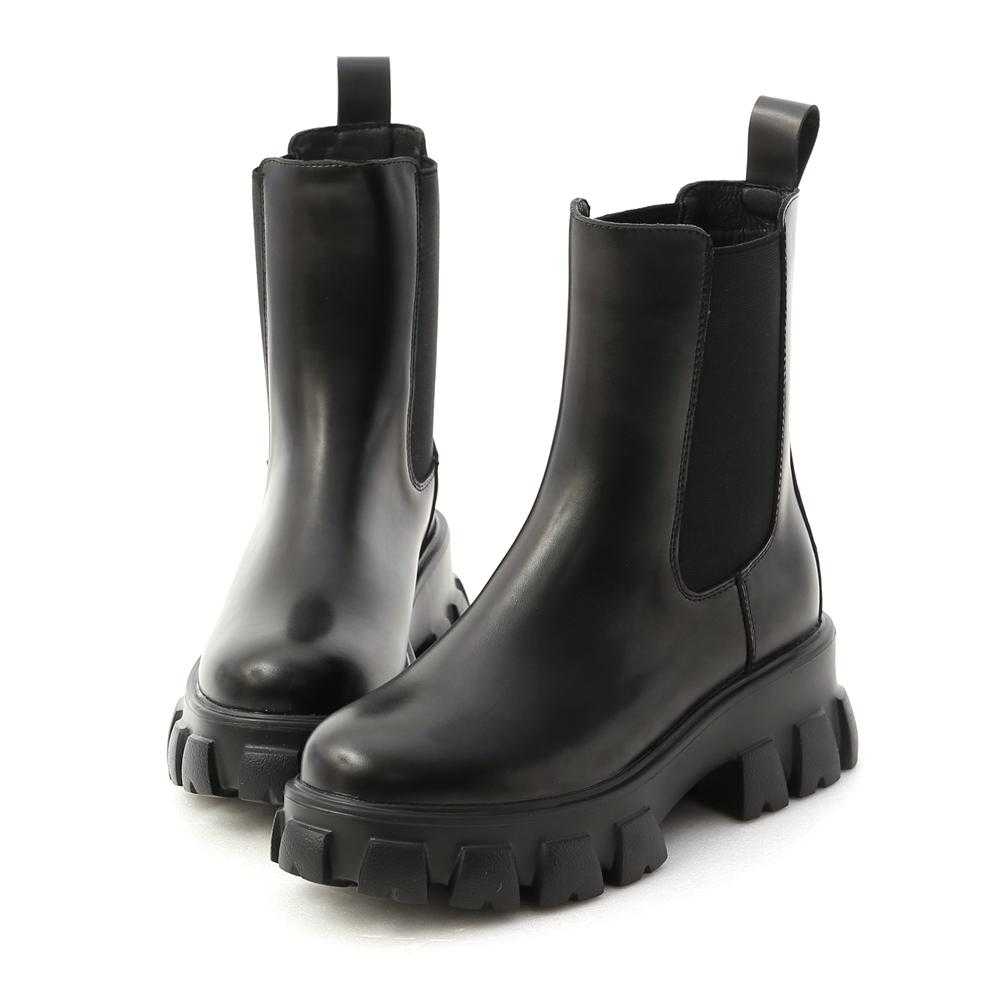 超輕量切爾西鋸齒靴