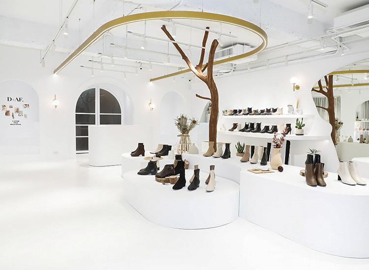 D+AF門市 敦南門市 台北東區鞋店 網美打卡 全台最美鞋店