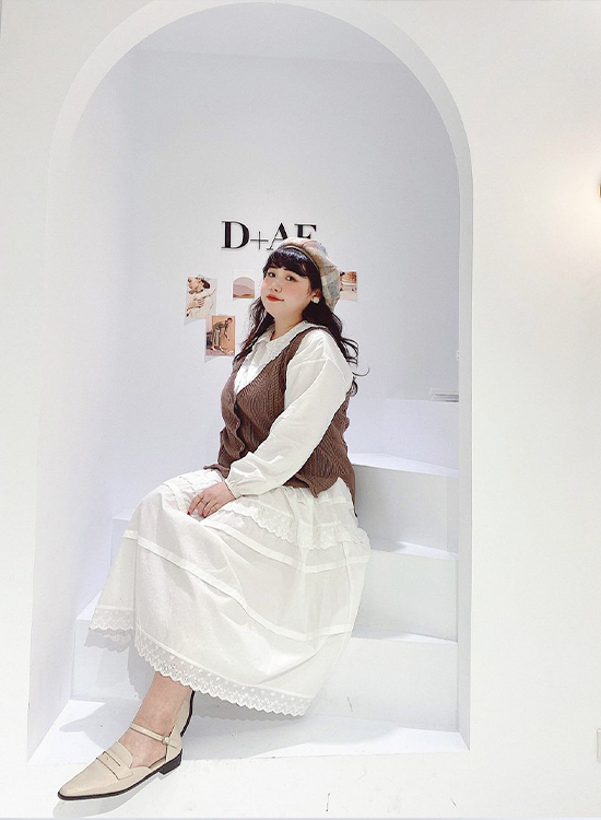 D+AF微尖頭踝繫帶樂福鞋 棉花糖女孩穿搭 女鞋 台北東區 全台最美鞋店