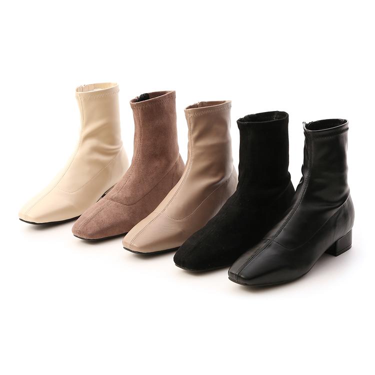 D+AF 春節最強美靴單品 質感麂皮絨面 百搭皮革面料 高實穿