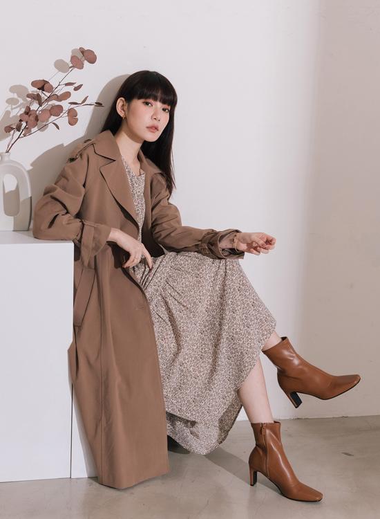 D+AF 2021新春穿搭時髦襪靴 扁跟設計 瘋女人聯名款