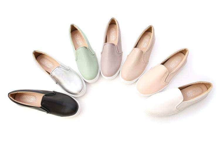 舒適好穿鞋推薦 MIT素面加厚底休閒懶人鞋 台灣製造懶人鞋 一腳登