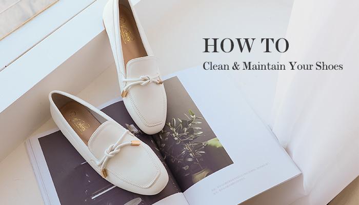 清潔小白鞋實用教學,保養清理一次到位
