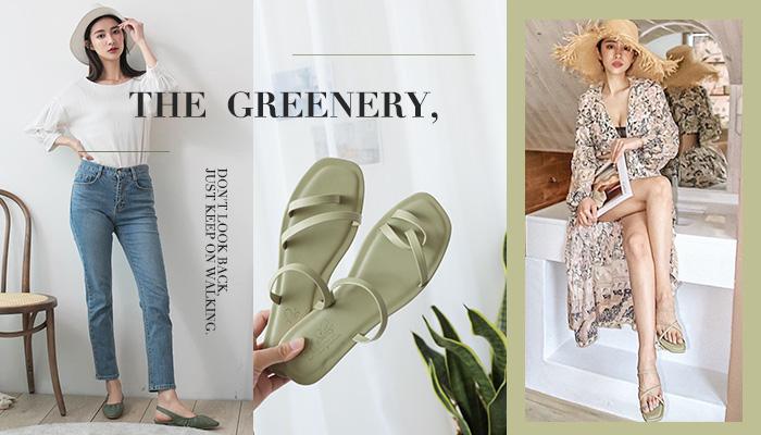 清涼一夏!春夏最IN薄荷綠鞋款精選