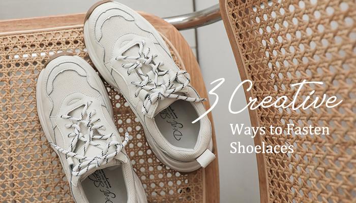 超特別的3種花式鞋帶綁法,小編推薦給妳!