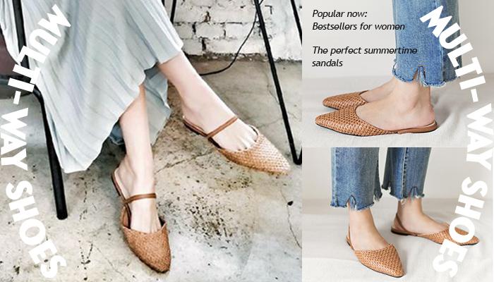 必收藏!高CP值兩穿涼鞋 一雙鞋有多種穿法