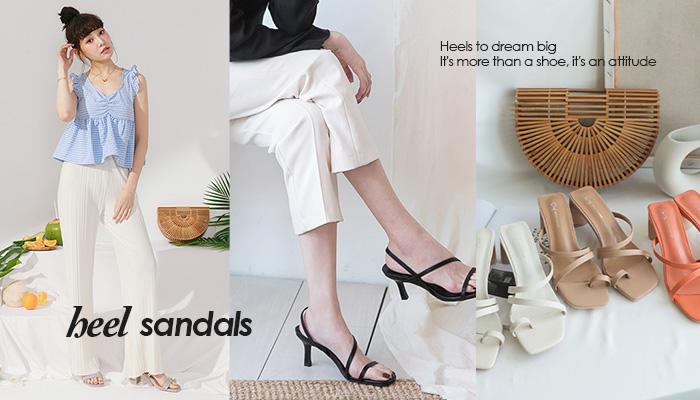 一秒擁有長腿!鞋櫃必備的高跟涼拖鞋