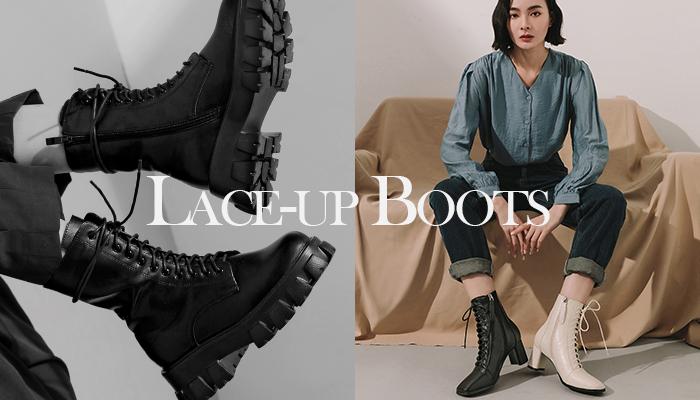 秋冬綁帶靴這樣駕馭!帥氣風格女孩必學