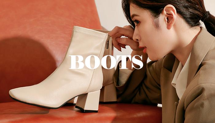 時尚氣場爆棚高跟靴 輕鬆擁有逆天大長腿
