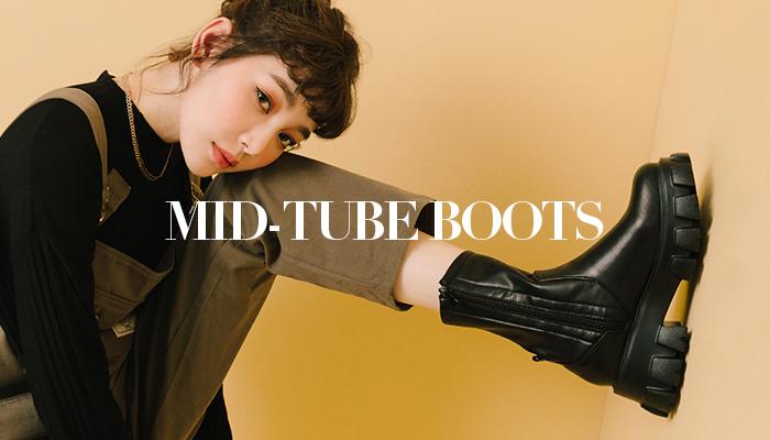 中筒靴完美的顯瘦穿搭攻略!快收藏