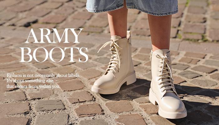 可帥可甜!時髦女孩都該懂得軍靴穿搭秘訣