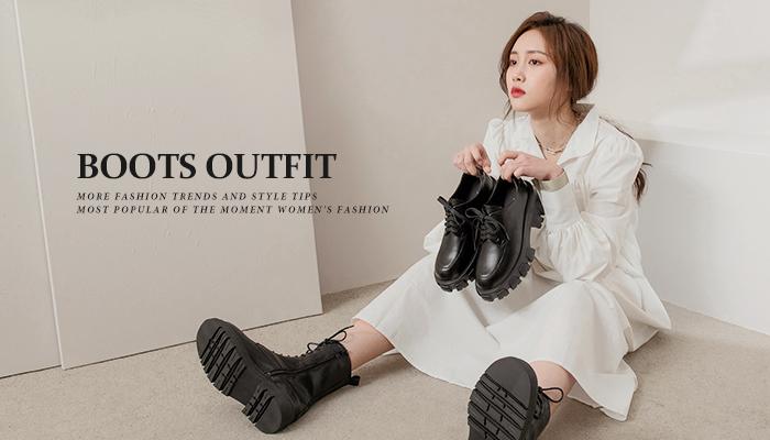 靴子穿搭密技!打造最in的時尚靴子穿搭